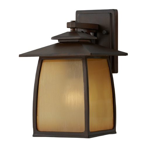 Feiss Lighting Feiss Lighting Wright House Sorrel Brown LED Outdoor Wall Light OL8501SBR-LED