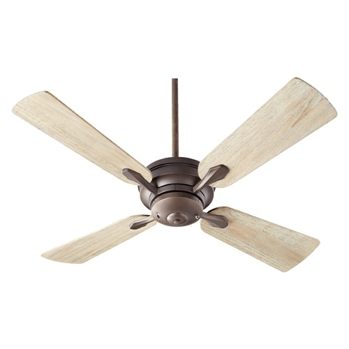 Quorum Lighting Quorum Lighting Valor Oiled Bronze Ceiling Fan Without Light 81524-8641