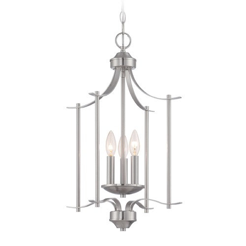 Designers Fountain Lighting Designers Fountain Cassina Satin Platinum Pendant Light 86953-SP