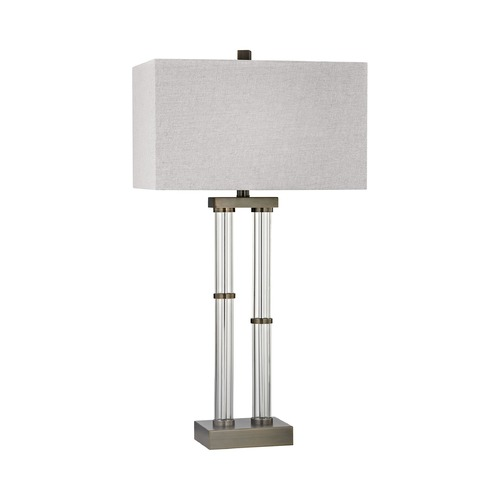 Dimond Lighting Dimond Throughline Dunbrook Table Lamp with Rectangle Shade D3051