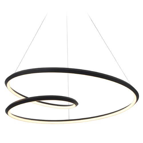 Kuzco Lighting Kuzco Lighting Ampersand Black LED Pendant Light PD22339-BK