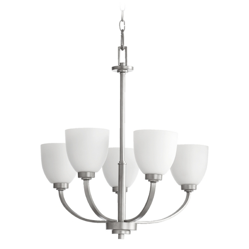Quorum Lighting Quorum Lighting Reyes Classic Nickel Chandelier 6060-5-64