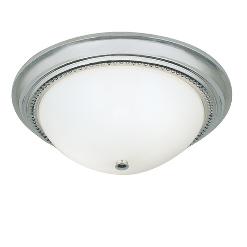 Norwell Lighting Norwell Lighting Soleil Brush Nickel Flushmount Light 5373-BN-SO