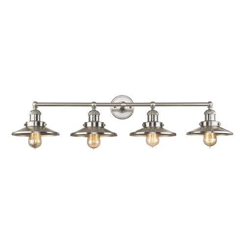 Elk Lighting Elk Lighting English Pub Satin Nickel Bathroom Light 67173/4