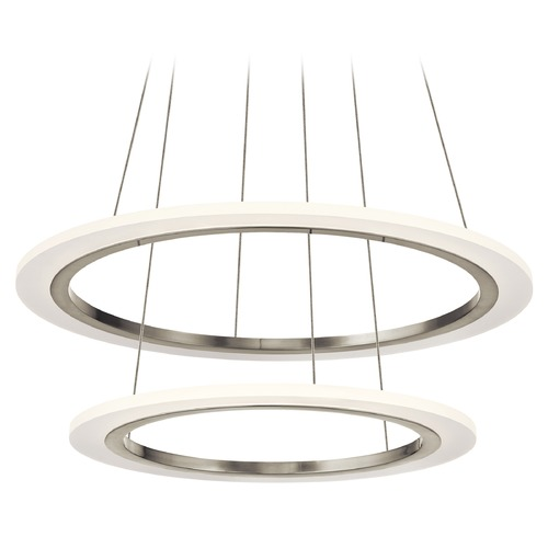 Elan Lighting Elan Lighting Hyvo Brushed Nickel LED Pendant Light 83670