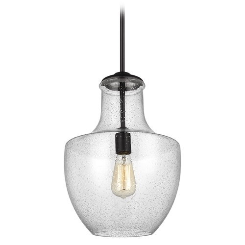 Sea Gull Lighting Sea Gull Lighting Baylor Oil Rubbed Bronze Pendant Light with Urn Shade P1461ORB