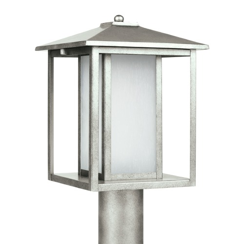 Sea Gull Lighting Sea Gull Lighting Hunnington Weathered Pewter LED Post Light 89129EN3-57