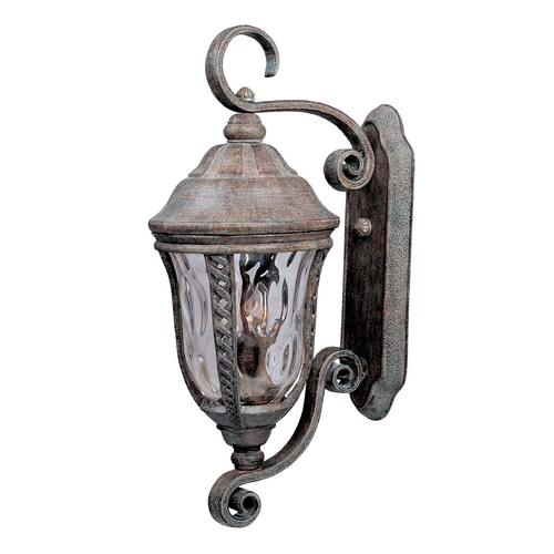 Maxim Lighting Outdoor Wall Light with Clear Glass in Earth Tone Finish 3108WGET
