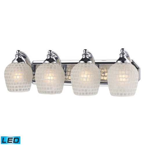 Elk Lighting Elk Lighting Bath and Spa Polished Chrome LED Bathroom Light 570-4C-WHT-LED