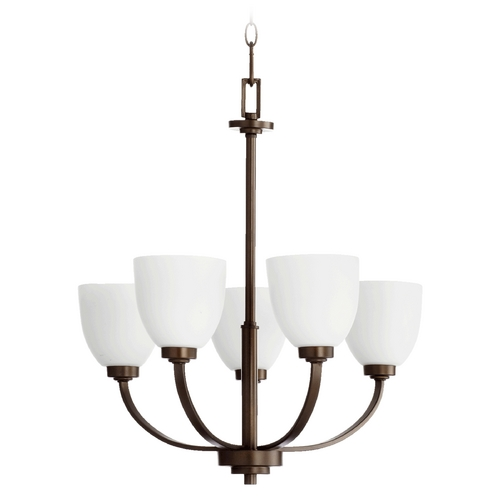 Quorum Lighting Quorum Lighting Reyes Oiled Bronze Chandelier 6060-5-86