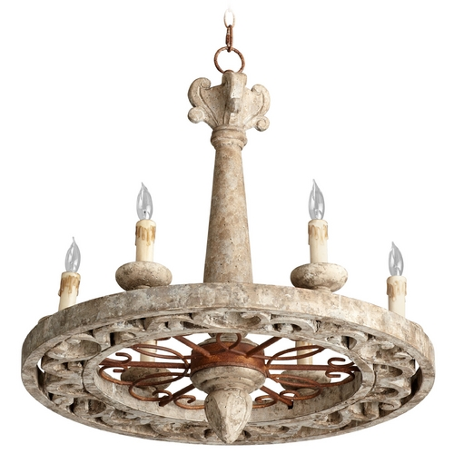 Cyan Design Cyan Design Malouet Nantucket Gray Chandelier 05255