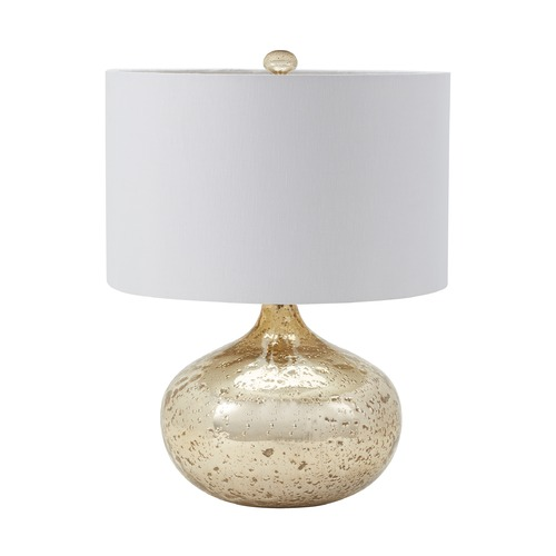 Dimond Lighting Dimond Lighting Gold Mercury Table Lamp with Drum Shade 983-002