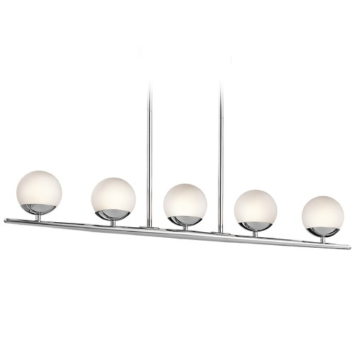 Kichler Lighting Kichler Lighting Jasper Island Light with Globe Shade 43580CH