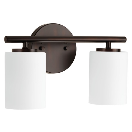 Progress Lighting Modern Bathroom Light Bronze Replay by Progress Lighting P2158-20