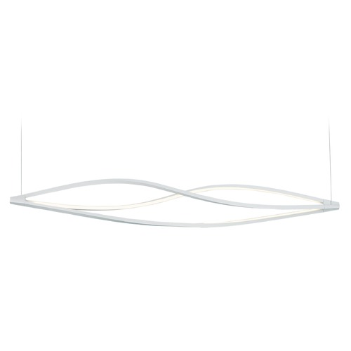 ET2 Lighting Cyclone LED Matte White LED Pendant Light E41396-11MW