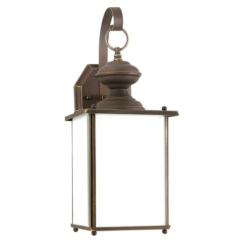 Sea Gull Lighting Sea Gull Lighting Jamestowne Antique Bronze LED Outdoor Wall Light 84158DEN3-71