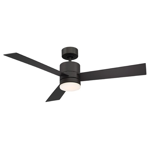 Modern Forms by WAC Lighting Modern Forms Axis Bronze LED Ceiling Fan with Light FR-W1803-44L-27-BZ