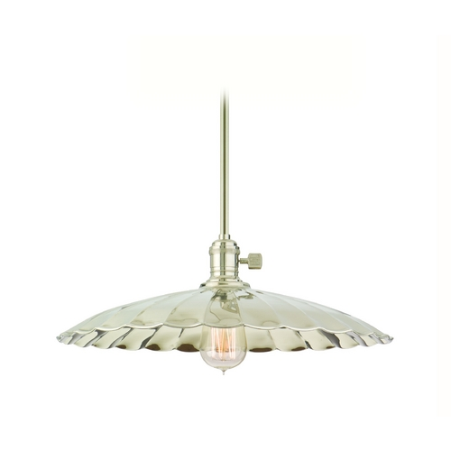 Hudson Valley Lighting Pendant Light in Polished Nickel Finish 9001-PN-ML3