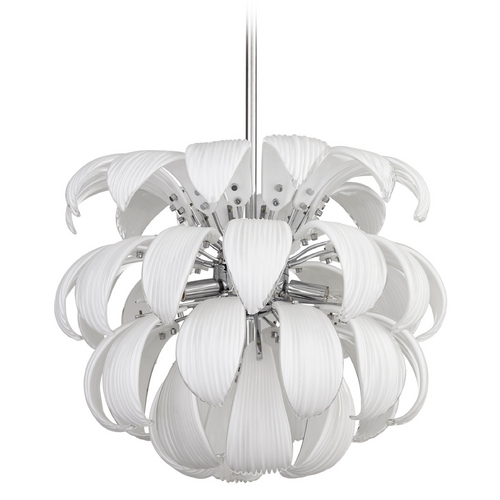 Cyan Design Cyan Design Day Lily White Pendant Light 06586