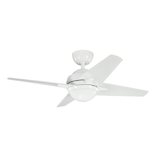 Kichler Lighting Kichler Lighting Sunburst Ii LED Ceiling Fan with Light 300169WH