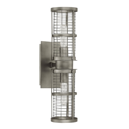 Capital Lighting Capital Lighting Davis Graphite Sconce 4856GR