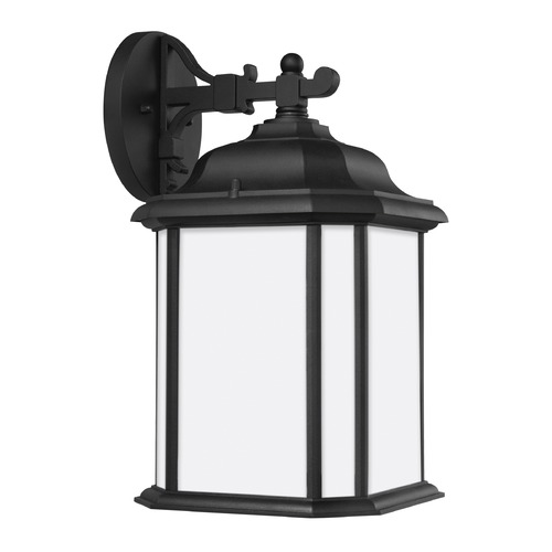 Sea Gull Lighting Sea Gull Kent Black Outdoor Wall Light 84531-12