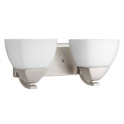 Progress Lighting Progress Lighting Appeal Brushed Nickel Bathroom Light P2701-09