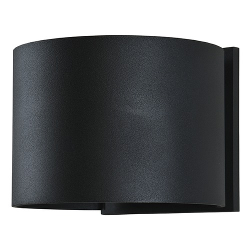 Access Lighting Access Lighting Curve Black LED Outdoor Wall Light 20399LEDMGRND-BL