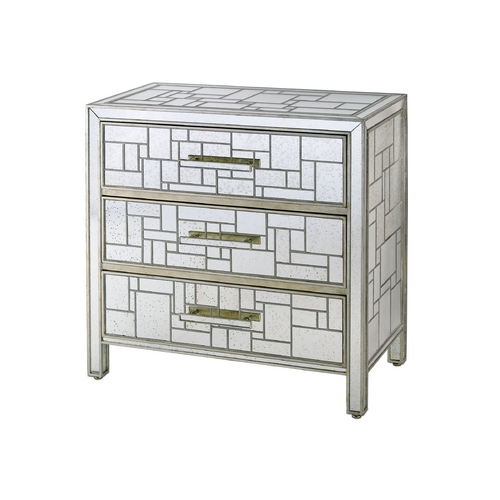 Currey and Company Lighting Cabinets / Storage / Organization in Silver Granello Finish 3093