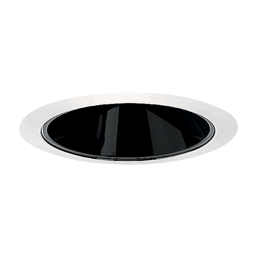 Juno Lighting Group Black Alzak Cone for 4-Inch Recessed Housing 17 BWH