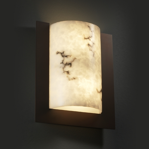 Justice Design Group Justice Design Group Lumenaria Collection Sconce FAL-5562-DBRZ