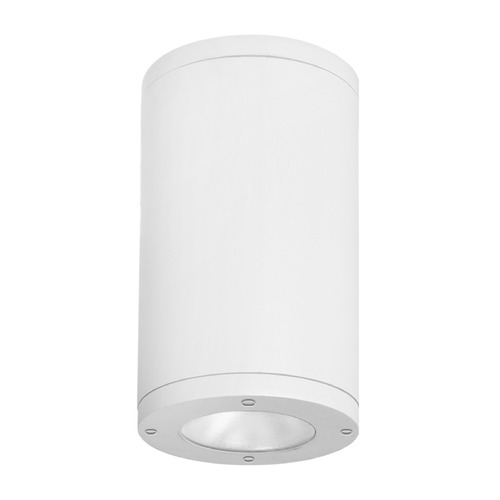 WAC Lighting 6-Inch White LED Tube Architectural Flush Mount 3500K 2455LM DS-CD06-F35-WT