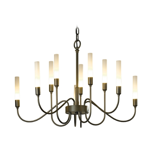 Hubbardton Forge Lighting Hubbardton Forge Lighting Lisse Dark Smoke Chandelier 106030-SKT-07