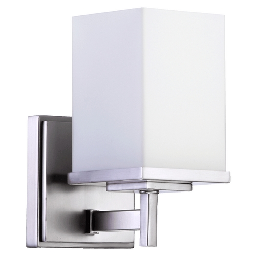 Quorum Lighting Quorum Lighting Delta Satin Nickel Sconce 5484-1-65