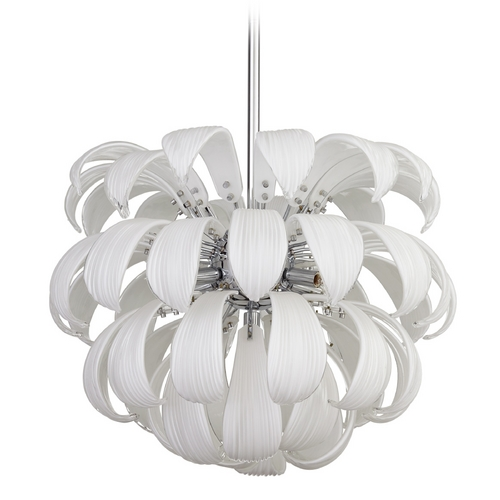 Cyan Design Cyan Design Day Lily White Pendant Light 06587
