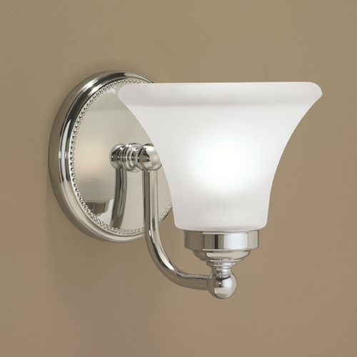 Norwell Lighting Norwell Lighting Soleil Chrome Sconce 9661-CH-FL