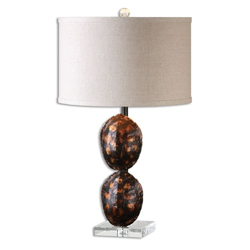 Uttermost Lighting Uttermost Awanata Tortoise Shell Table Lamp 26649-1