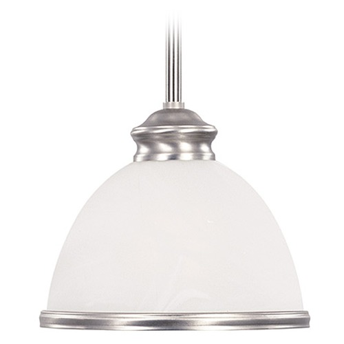 Savoy House Savoy House Pewter Mini-Pendant Light with Bowl / Dome Shade 7-5784-1-69