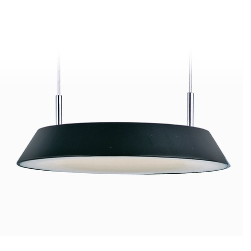ET2 Lighting Quantum LED Black LED Mini-Pendant Light with Coolie Shade E20901-BK