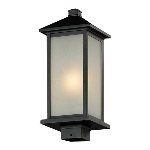 Z-Lite Z-Lite Vienna Black Post Light 547PHM-BK