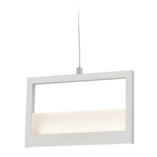 Kuzco Lighting Kuzco Lighting Ratio Brushed Nickel LED Pendant Light PD31408-BN