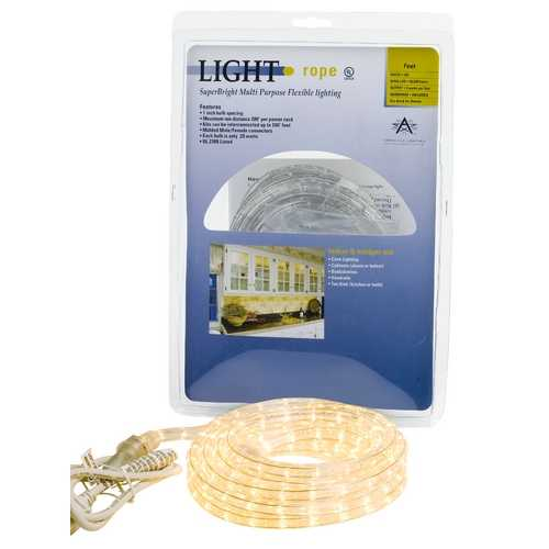 American Lighting 18-foot Commercial Grade Rope Light Kit 042-CL-18