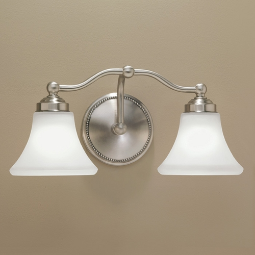 Norwell Lighting Norwell Lighting Soleil Brush Nickel Bathroom Light 9662-BN-FL