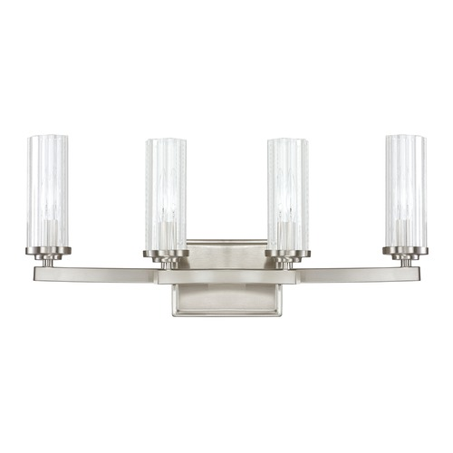 Capital Lighting Capital Lighting Emery Brushed Nickel Bathroom Light 8044BN-150