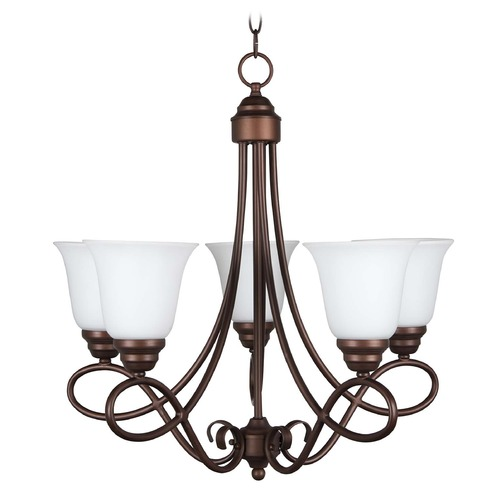 Craftmade Lighting Craftmade Lighting Cordova Old Bronze Chandelier 25025-OB-WG