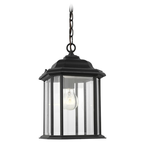 Sea Gull Lighting Sea Gull Lighting Kent Black Outdoor Hanging Light 60031-12