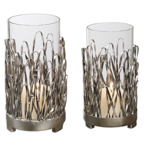 Uttermost Lighting Uttermost Corbis Candleholders Set of 2 19784