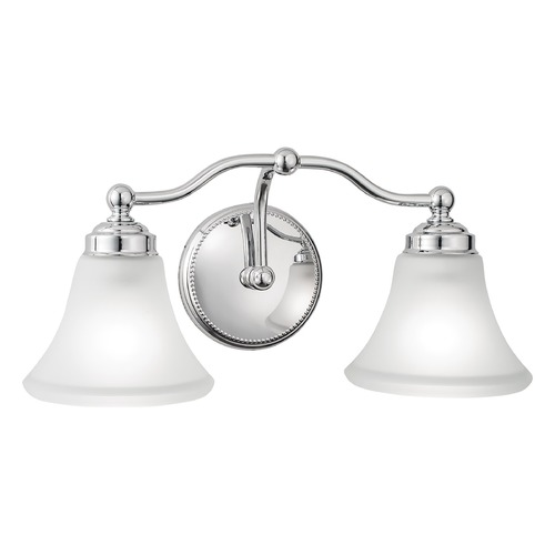 Norwell Lighting Norwell Lighting Soleil Chrome Bathroom Light 9662-CH-FL