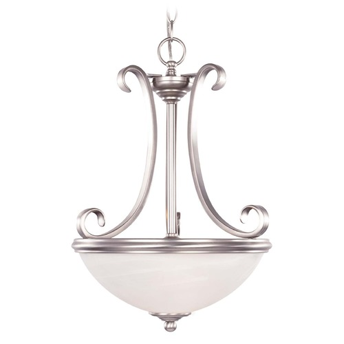 Savoy House Savoy House Pewter Pendant Light with Bowl / Dome Shade 7-5785-2-69