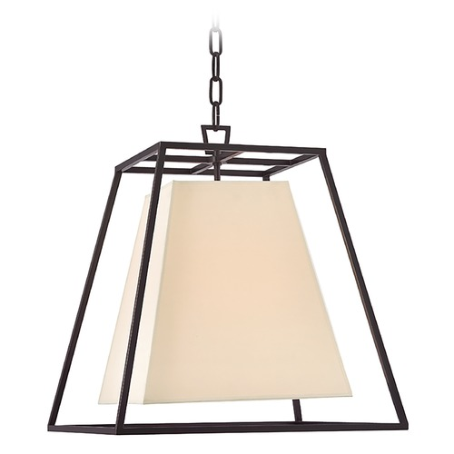 Hudson Valley Lighting Hudson Valley Lighting Kyle Old Bronze Pendant Light with Square Shade 6917-OB